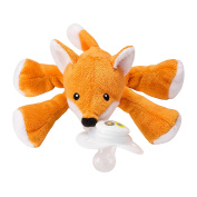Nookums Paci-Plushies Freckles Fox - Universal Pacifier Holder