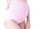 UtopyaUK® Maternity Underwear Panties Over the Bump High Waist Pregnancy Knickers for Pregnant Women Comfortable Soft Cotton Overbump Brief Adjustable Panty various Sizes