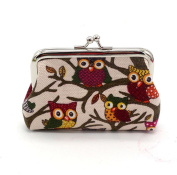 Tefamore Women Lovely Style Small Wallet Clutch Bag