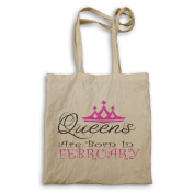 Queens are born in February Novelty Tote bag r17r