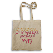 Princesses are born in May Novelty Tote bag s93r