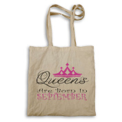 Queens are born in September Novelty Tote bag r24r