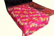 Kuber Industries Dora Print Full Size Reversible Single Dohar/Blanket/AC Quilt