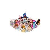 Huijukon Jumbo Toy Hammock Storage Net Organiser for Soft Stuffed Animals, Nursery Play, Teddies