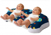 Love2Sleep TWIN FEEDING/ NURSING PILLOW CUSHION HOLLOWFIBRE FILLED FOR COMPLETE SUPPORT