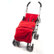 Genesis Universal Red Soft Fleece Footmuff Cosytoes & Buggy Liner