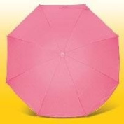 Eisbärchen Parasol with Fibreglass Spokes and UV Protection, Rose