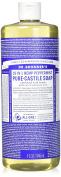 Dr. Bronner's Magic Soaps Pure-Castile Soap, 18-in-1 Hemp Peppermint, 950ml Bottle