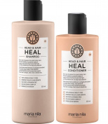Maria Nila Head and Hair Heal Shampoo and Conditioner Set