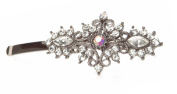 Vintage Crystal Hair Slide by Rosie Fox London Ltd