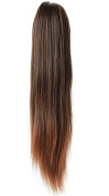 PRETTYSHOP 50cm Hairpiece Ponytail Clip on Extension Long hair smooth Heat-Resisting