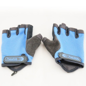 Pseudois Padded Anti-Slip Women's Power Weight Lifting Gloves for Gym Workout, CrossFit, Weightlifting, Powerlifting, and Running—Pair