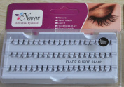 60 Individual False semi-permanent Eyelashes Length 10mm per flare Cluster by New Eve