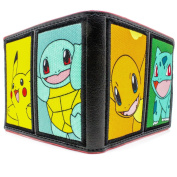 Pokemon Gotta Catch Em All Black Coin & Card BiFold Wallet