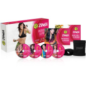Zumba Dance Workout Lose Weight, Tighten, Toning Exercise and Fitness DVDs