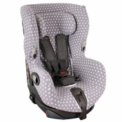 Car seat cover for Maxi-Cosi Axiss - Grey stars