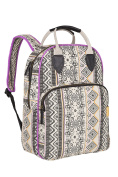 Lassig Vintage Nappy/Changing Backpack, Ethno Sand