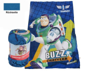 Disney Toy Story Buzz Lightyear Children's Soft Fleece Blanket Snuggle Blanket 135x200 cm