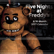 Five Nights at Freddy's 2017 30cm x 30cm Wall Calendar