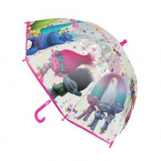 Children Kids Official Dreamworks Trolls Family Character Umbrella