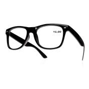 Men's Women's Original Vintage Retro +0.50 +0.75 +1.0 +1.5 +2.0 +2.5 +3.5 +4.00 Reading glasses Unisex Vintage MFAZ Morefaz Ltd