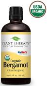 Bergamot ORGANIC Essential Oil. 100 ml. 100% Pure, Undiluted, Therapeutic Grade.