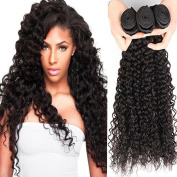 XCCOCO Wholesale Curly Hair Products Indian Virgin Curly Hair Extensions 3 Bundles 8A Grade Unprocessed Remy Human Hair Weave Natural Colour 36cm 41cm 46cm