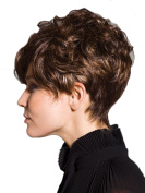 Short Culry Fluffy Women Wigs Heat Resistant Wig