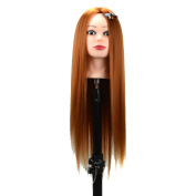Deercon Hairdressing Cosmetology Mannequin Manikin Training Head Model with Stent