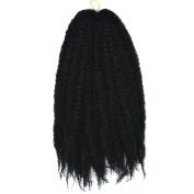 Deercon Womens African Wigs Braid Fluffy Explosive Head Hair Extension
