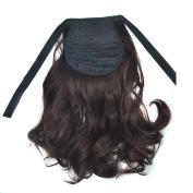 Deercon Womens Braid Curly Hair Colourful Long Hair Curls