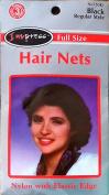 Hair Nets Impress Black Regular Size