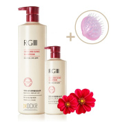 DCKR Natural Clinic Shampoo RGIII - Best Organic Red Ginseng Ingredients for Anti-Hair Loss & Regeneration - Patented Hair Care Shampoo RG III