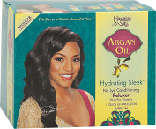 Hawaiin Silky Argan Oil Hydrating Sleek no Lye Touch Up Relaxer - Regular