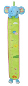 SKK BABY Growth Height Chart Kids Plush Hanging Ruler For Nursery Wall Decor Elephant