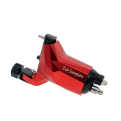 Rotary Tattoo Machine Gun,Japan Technology Motor,DC Clip Cord Space Aluminium Frame for Liner and Shader Redscorpion
