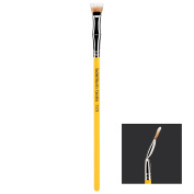 Bdellium Tools Professional Makeup Brush Studio Line - Duet Fibre Bent Mascara Fan 729