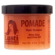 Lusti Professional Pomade Hair Crease with Aloe and Kiwi Oil Hair Food treatment 120ml 113g Made In USA