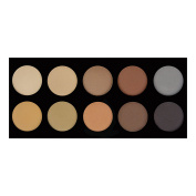Crown Brush 10 Colour Brow Palette