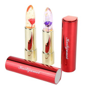 Kailijumei Jelly Lipstick, Flower Lipstick - Frame Red & Drame Purple For Pink Lips