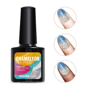 Modelones Soak Off UV LED Glitter Temperature Colour Changing Chameleon Gel Nail Polish -5746 10ml