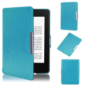 For Kindle Paperwhite 5, AMA(TM) Ultra Slim Leather Smart Case Protective Cover for New Amazon Kindle Paperwhite 5