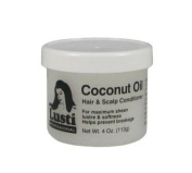 Lusti Professional Coconut Oil Hair & Scalp Conditioner For Maximum sheen Lustre & Softness Help prevent breakage 120ml 113g Made In USA