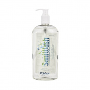 Safetec SaniWash Antimicrobial Handwash - 470ml Bottle
