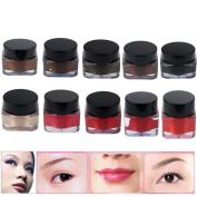 Hunputa 10pcs Microblading Pigment Permanent Makeup Eyebrow Lip Tattoo Ink High-graded
