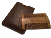 Double Sided Fine Tooth Beard and Moustache Comb by Striking Viking