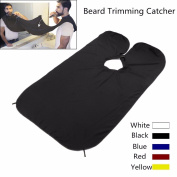 Beard Catcher Cape, HANHE, The Beard Foundry Bib Apron Facial Hair Trimmings Catcher Cape Sink Home Salon/Beard Catcher Apron/Beard Trimming Cape/Hair Trimming Cape