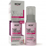 New WOW Hair Vanish For Women - All Natural Hair Inhibitor. Lotion Moisturises Skin & Reduces Hair Growth, Hair Thickness & Appearance - New Improved Formula