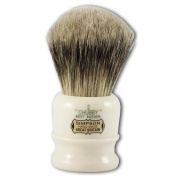 Simpsons Chubby 2 Best Badger Hair Shaving Brush With Imitation Ivory Handle by Simpsons