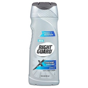 Right Guard Total Defence 5 Cooling with Menthol 18-Hour Deodorising Hair & Body Wash 400ml
